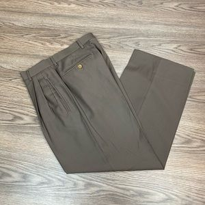 Ermenegildo Zegna Brown Dress Pants 32x28